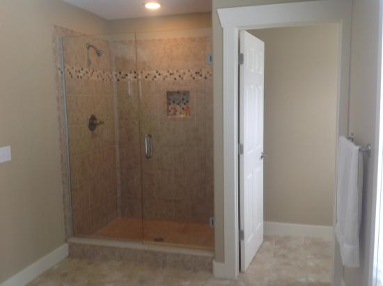 Stanwood, MI: Walk-in shower