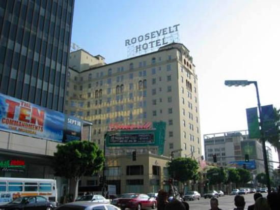 The Hollywood Roosevelt: 外観