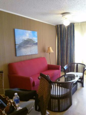 Caribbean Palm Village Resort: One of the seating area apartment