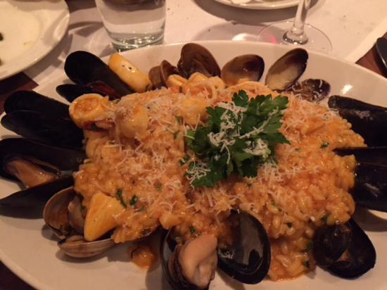 Basso56 : Seafood risotto
