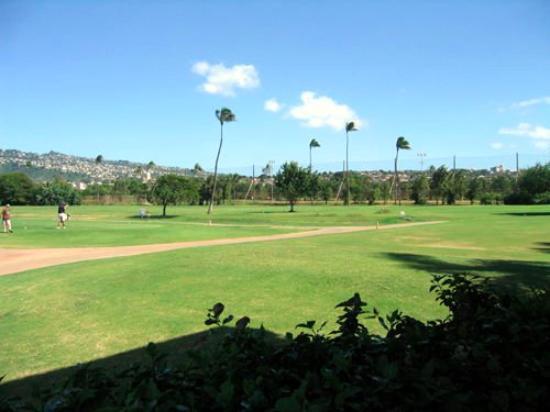 Ala Wai Municipal Golf Course: コース