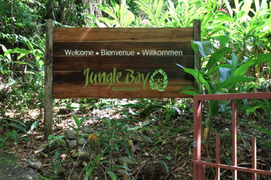 Jungle Bay, Dominica: Jungle Bay Welcome Sign