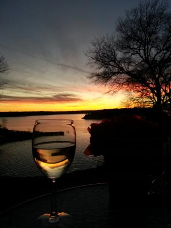 Belton, TX: Valentines lakeside dinner, 2015
