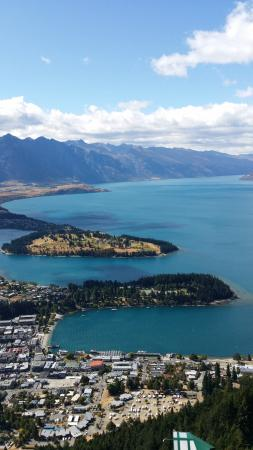 Queenstown, Nuova Zelanda: Gondola view