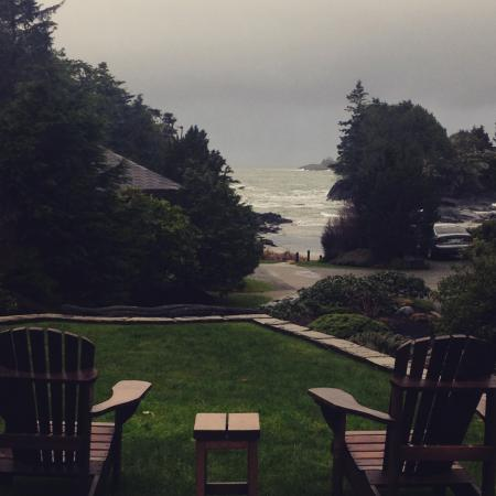 Crystal Cove Beach Resort : View from the cabin