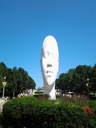 Millennium Park Sculpture Oct. 2015