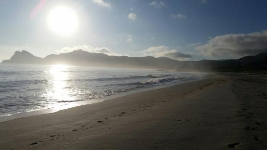Great Barrier Island, Nueva Zelanda: Morning on Medlands Beach