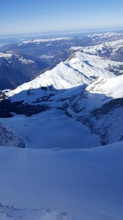 Jungfraujoch: view from observatory
