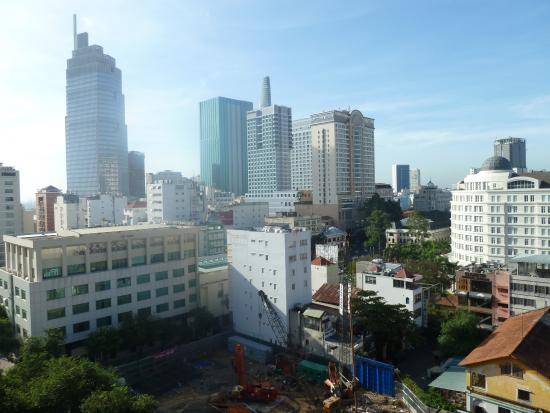 Asian Ruby Luxury Hotel: View from 9th floor