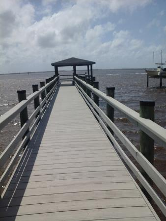 Southport, NC: private pier