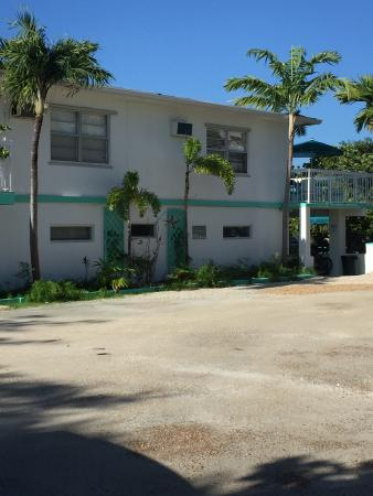 Gulf View Waterfront Resort: Outside of #17