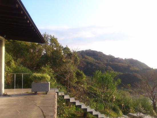 Shunan, Japón: デッキから南を望む