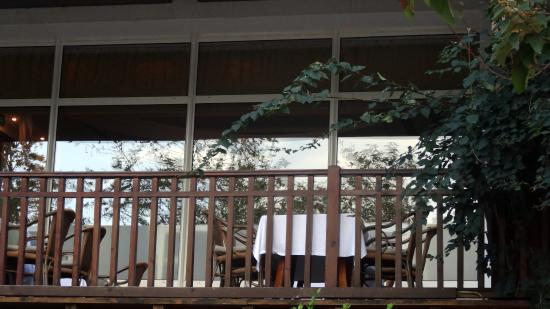 Alkoclar Exclusive Kemer : Терраса ресторана