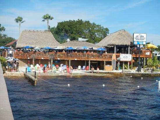 restaurant from the pier picture of boat house tiki bar grill rh tripadvisor com
