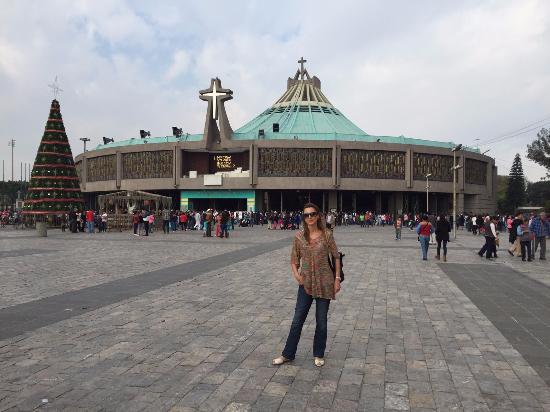 Basilica de la Virgen de Guadalupe-exterior. México DF - Picture ...