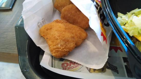 Jefferson, Carolina del Norte: Chicken nuggets were very good.