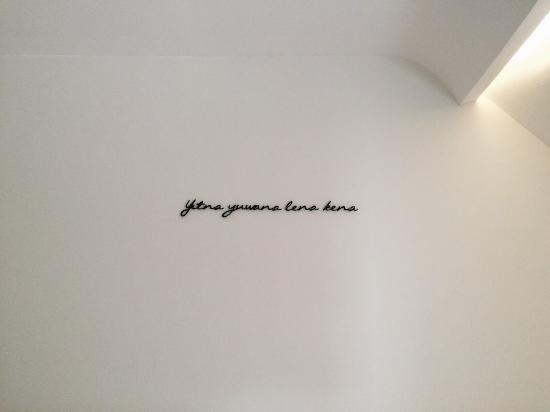 Namin Hotel Javanese Sundanese Wall Decor Writings
