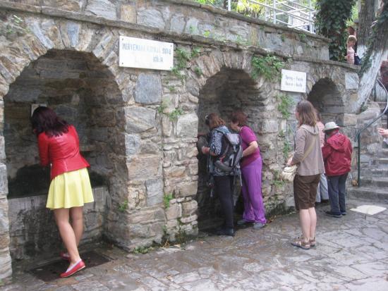 Meryemana (The Virgin Mary's House): sacred fountains
