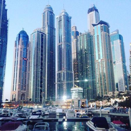 Dubai marina picture of ghaya grand hotel dubai for Tripadvisor dubai hotels