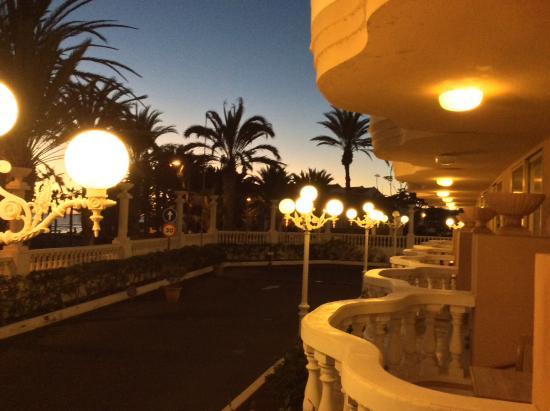 Cleopatra Palace Hotel: Sea view room