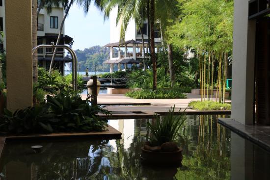 Tanjung Rhu Resort: View from Inside the resort..