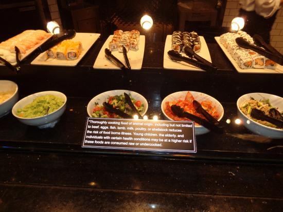 very good salad options picture of the buffet at ti las vegas rh tripadvisor co za