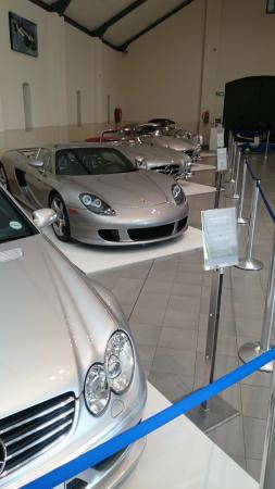 The Franschhoek Motor Museum: Even some modern Cars
