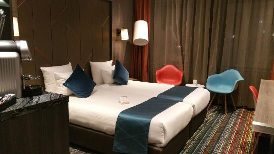Bed Picture Of Xo Hotels Couture Amsterdam Tripadvisor