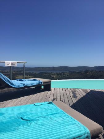 Simola Hotel & Spa: view from pool