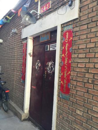 Hohhot, Chine : hostel main entrance