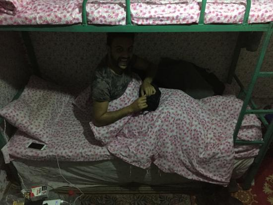 Hohhot, Chine : hostel room and bed