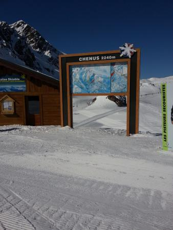 Courcheneige: Ski options all around