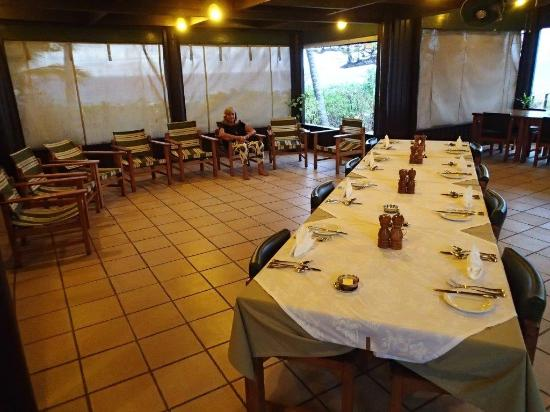 Navini Island, Fiji: Wow - only 8 people on the island tonight!