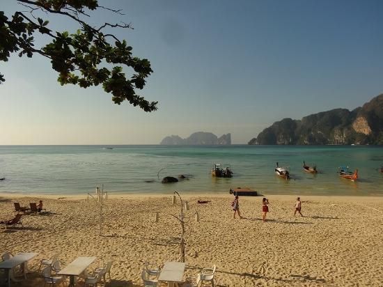 Phi Phi Bayview Resort: レストランからの眺め