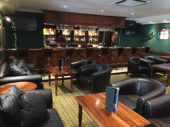 Polokwane, Sudáfrica: Bar lounge