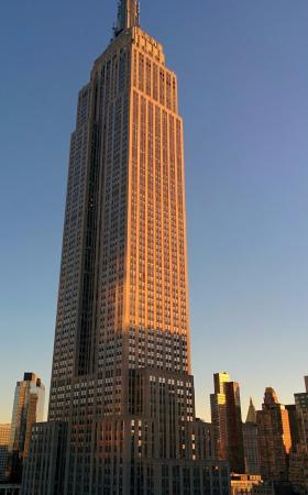 Hilton Garden Inn New York/West 35th Street: View from my room (27th floor)