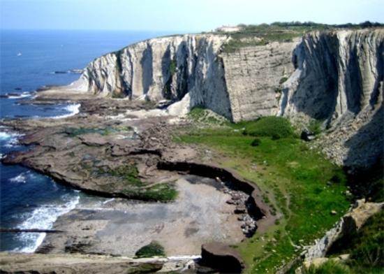 acantilados de azkorri