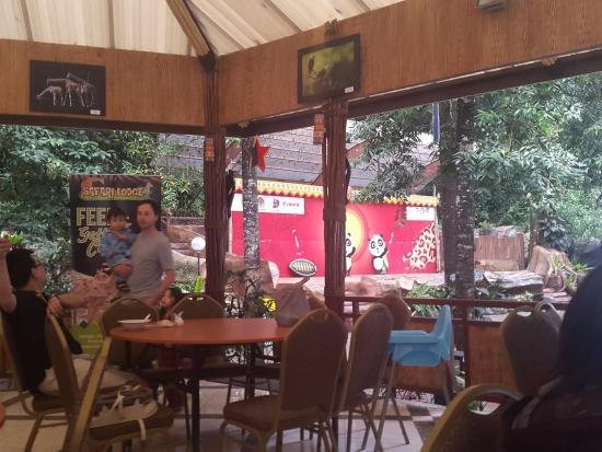 breakfast area picture of taman safari lodge puncak tripadvisor rh tripadvisor co za