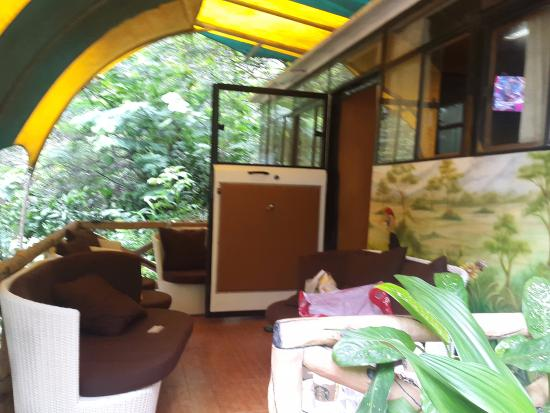 balcony picture of taman safari lodge puncak tripadvisor rh tripadvisor co uk