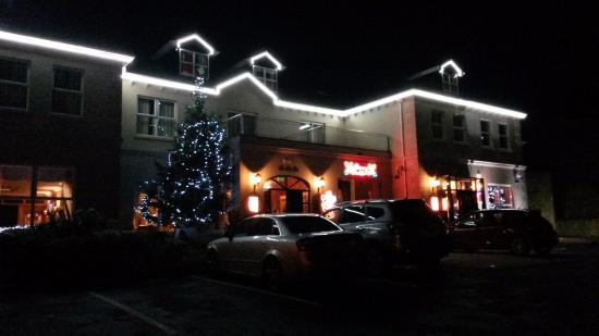 Ballyliffin Lodge & Spa Hotel: All lit up!