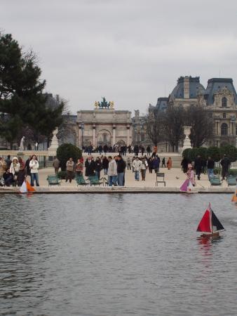 Paris Authentic: le bassin  des tuileries