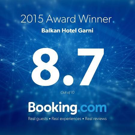 Balkan Hotel Garni: reward