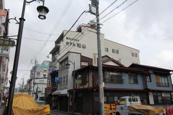 Kanko Business Hotel Matsuyama: 外観
