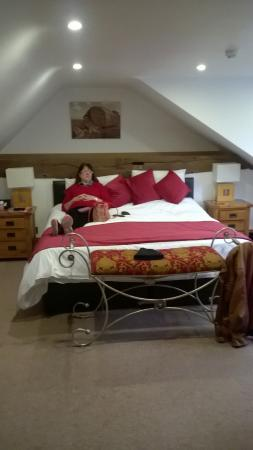 Stocks Hotel: 'Lady of the Manor' relaxing in our room