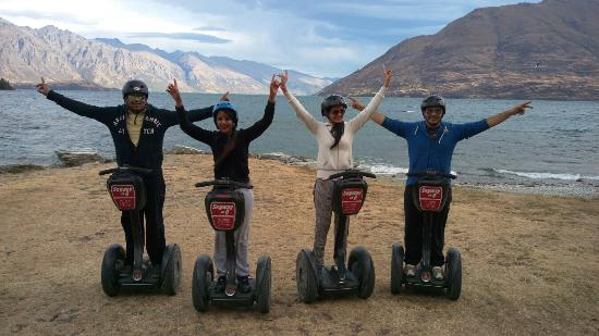 Queenstown, Nuova Zelanda: Segway on Q