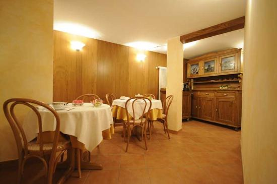 Antey Saint Andre, Italia: Sala colazioni