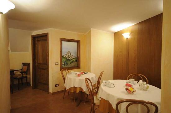 Antey Saint Andre, Ιταλία: Sala colazioni