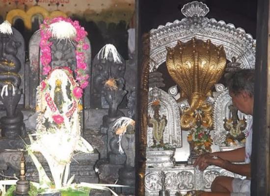 Kukke Shree Subramanya Temple: idol Kukke S