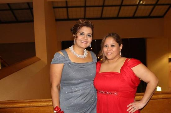 My wife and my sister