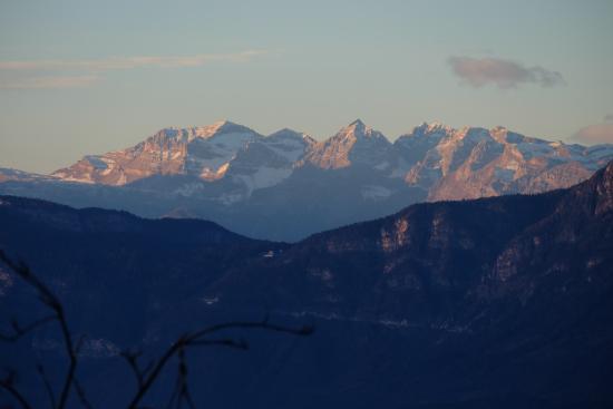 Soprabolzano, Italien: Ausblick von unserem Hotelzimmer